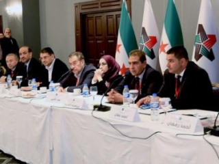 Делегация от оппозиции на конференции «Женева-2»