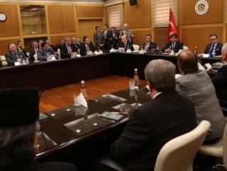 На встрече в МИД Турции
