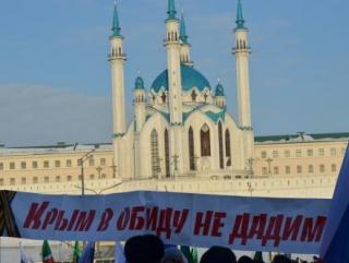 Митинг прошел по-татарски весело и непренужденно
