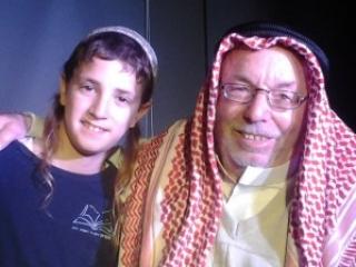 Палестинский шейх отдал дань уважения покойному раввину
