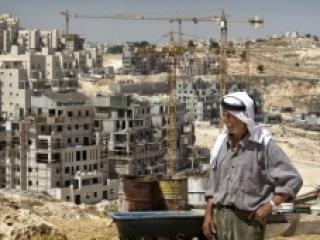 Строительство израильского поселения на Западном берегу. Голландию с Бельгией это мало напоминает