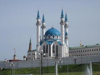 Символ Казани - мечеть Кул Шариф