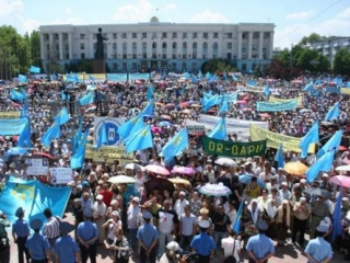 Крымские татары - одна из наиболее организованных общин Крыма
