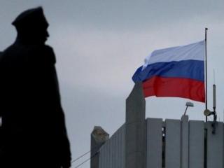 Над штабом ВМС Украины поднят российский триколор