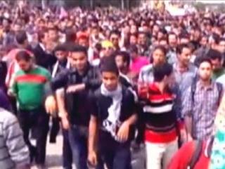 Студенчиские волнения не прекращаются со времени военного переворота в Египте