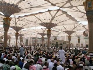 Пятничная проповедь в Медине