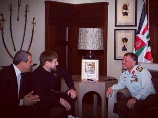 Встреча главы ЧР и короля Иордании в Аммане (фото: страница Р.Кадырова в «Инстаграм»)