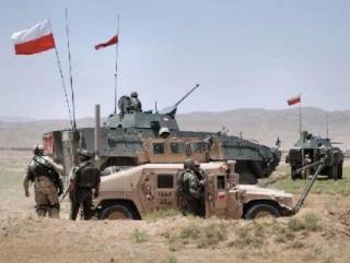 Польское подразделение в составе натовского контингента в Ираке