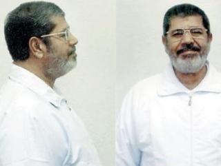 Мухаммад Мурси после ареста. Полицейская фотография.