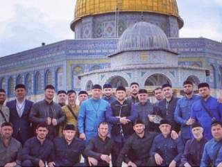 Кадыров помолился в Аль-Аксе о благополучии России