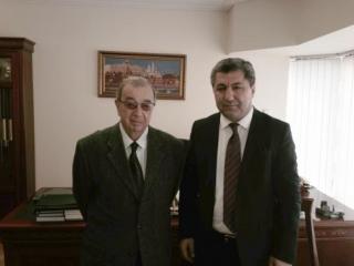 Во время встречи Мухиддина Кабири с Евгением Примаковым