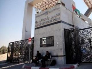 КПП «Рафах» служит для палестинцев единственной возможностью связи с внешним миром