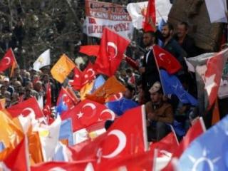 Кандидаты от партии Эрдогана набрали более 50% голосов