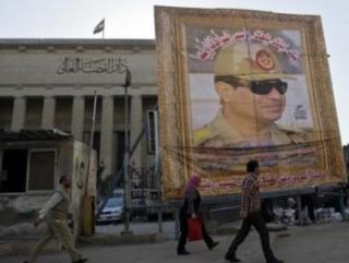 Несмотря на мощную пропаганду, чуть более трети египтян готовы голосовать за ас-Сиси.