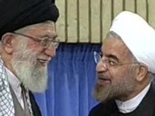 Аятолла Хамени и Хассан Роухани