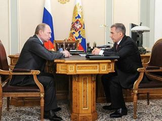Минниханов походатайствовал за крымских татар у Путина