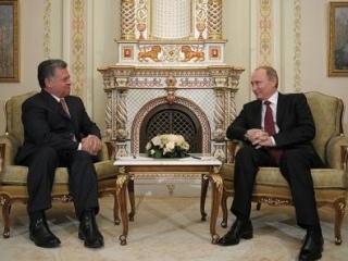 Путин обсудит с королем Иордании военное сотрудничество