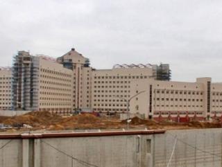 Строящаяся тюрьма «Кресты-2» Фото: ombudsmanspb.ru