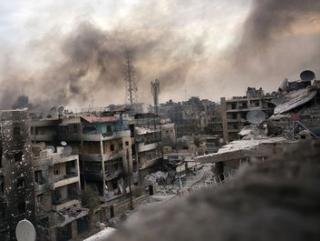 40 мирных сирийцев стали жертвами атаки в Алеппо