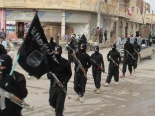 Боевики «Исламского государства» на улицах Сирии