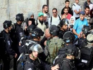 В столкновении у ворот мечети аль-Акса ранены палестинцы