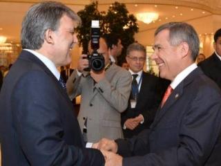 Президент Турции и глава Татарстана провели переговоры в Ашхабаде