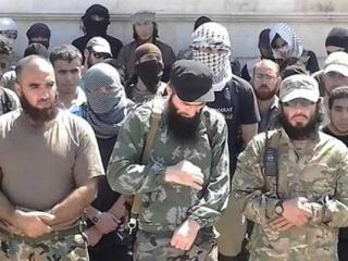 Члены ИГИЛ. Фото: «Ватан»