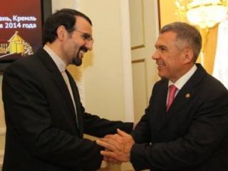 Встреча главы Татарстана с послом Ирана