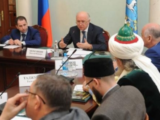 В резиденции губернатора Смоленской области прошла встреча с главами муфтиятов ПФО