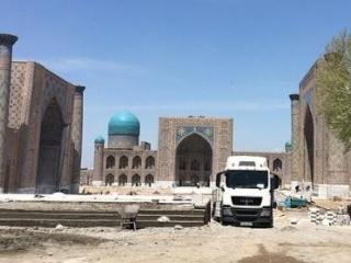 Нанесен ущерб исламскому наследию Самарканда
