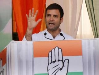 Потомок Ганди прервал предвыборную речь, услышав азан