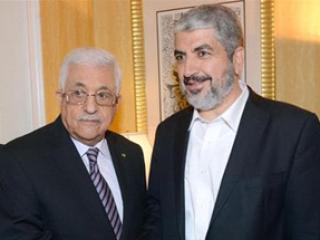 Махмуд Аббас и Халед Мишааль