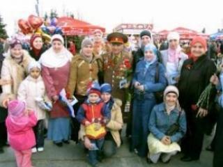 Мусульманская молодежь поздравит ветеранов с днём Победы