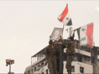 Войска Асада заняли город Хомс (Видео)