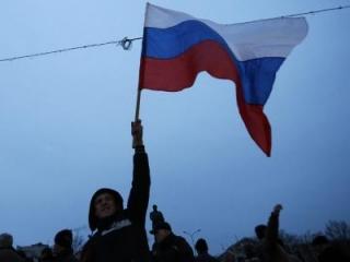 Пророссийский митинг на юго-востоке Украины