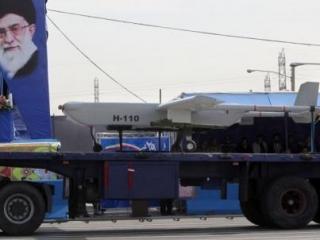 Иранский дрон доставляется к месту испытаний
