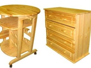 Мебель из сосны и ее основные преимущества