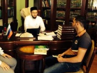 Уроженец Грузии пришел в ислам благодаря телефону доверия
