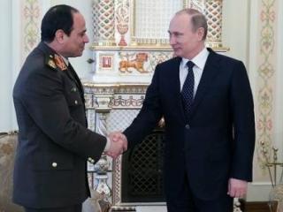 Встреча В.Путина с А.Сиси в Ново-Огарево (архив)