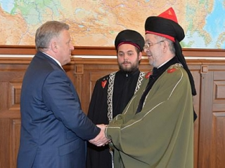 Губернатор встретился с представителем верховного муфтия ЦДУМ