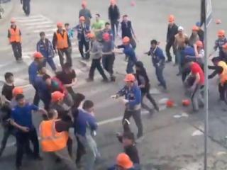 Строителям-мигрантам грозит до 7 лет  за драку у ТЦ «Москва-сити»
