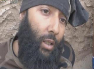 Плененный боевик ИГИЛ