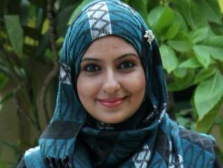 Бывшая актриса, а ныне мусульманка Рахима