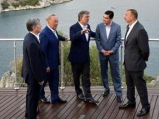 Главы тюркоязычных государств