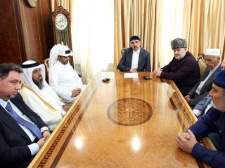 В Ингушетии с визитом находится катарская делегация во главе с председателем Управления по исламским делам Халедом Шахин аль-Ганем