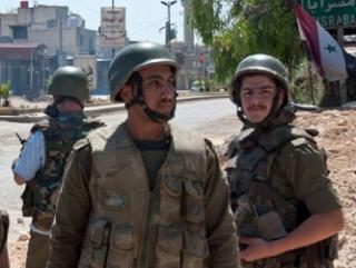 Войска Асада освободили город Кесаб на границе с Турцией