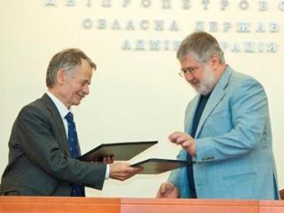 Бывший лидер крымских татар сошелся с еврейским олигархом
