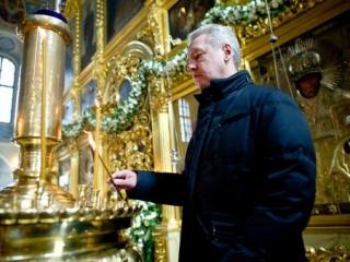 Собянин награжден за заслуги перед РПЦ