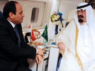 Саудовский король вызвал главу Египта в свой самолет