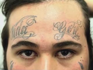 Гангстер с татуированным лицом принял ислам в Бразилии (ВИДЕО)